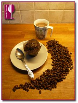 Café en forma de magdalena